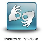 icon  button  pictogram with... | Shutterstock . vector #228648235