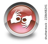 icon  button  pictogram with... | Shutterstock . vector #228648241