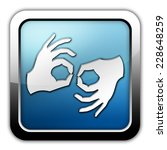 icon  button  pictogram with... | Shutterstock . vector #228648259