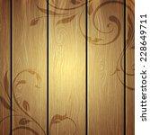 wooden texture | Shutterstock . vector #228649711