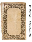 vintage book   Shutterstock . vector #22865203