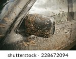 very dirty car | Shutterstock . vector #228672094
