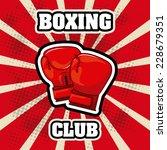 boxing graphic design   vector...   Shutterstock .eps vector #228679351