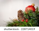christmas decoration | Shutterstock . vector #228714019