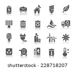 environmental protection icons   Shutterstock .eps vector #228718207