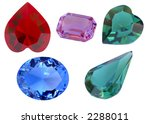 collection of differently cut... | Shutterstock . vector #2288011