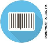 Barcode Icon  Flat Design With...