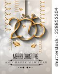 2015 new year and happy... | Shutterstock . vector #228853204