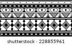 ethnic jacquard ornament | Shutterstock .eps vector #228855961