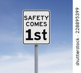 a modified speed limit sign on... | Shutterstock . vector #228895399