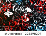 abstract background painting | Shutterstock . vector #228898207