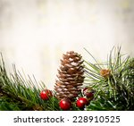 christmas decoration | Shutterstock . vector #228910525