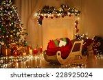 Christmas Sleigh With Bag ...