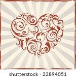 valentine's day background | Shutterstock .eps vector #22894051