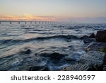 soft sunset and hard rocks | Shutterstock . vector #228940597