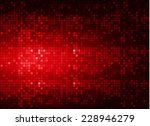 abstract mosaic red background...