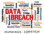 data breach word cloud with... | Shutterstock . vector #228957529