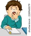 illustration featuring a boy... | Shutterstock .eps vector #228960079