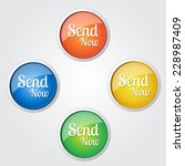 send now colorful vector icon... | Shutterstock .eps vector #228987409