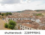 chinchon town view in spain | Shutterstock . vector #228999841