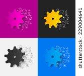 drawing medical formulas ...   Shutterstock . vector #229004641