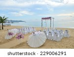 wedding setup | Shutterstock . vector #229006291