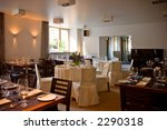 restaurant interior with served ... | Shutterstock . vector #2290318