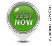 test now pointer icon on white... | Shutterstock . vector #229047064