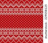 Christmas Seamless Knitting...