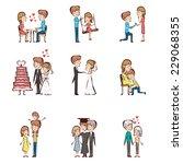 a vector illustration of life... | Shutterstock .eps vector #229068355