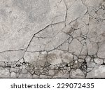 cracked concrete texture...   Shutterstock . vector #229072435