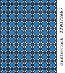 blue geometric pattern | Shutterstock . vector #229072687