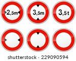 Illustration Of Set Signs For...