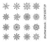 snowflake vector star white...   Shutterstock .eps vector #229100719