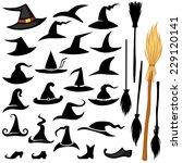 Set Of Halloween Accessories...