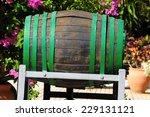 Decorative Old Wooden Barrel O...