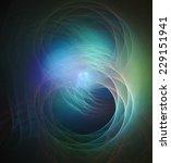 digital abstract fractal... | Shutterstock . vector #229151941