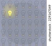 pattern bulbs backgrounds....   Shutterstock .eps vector #229167049