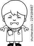 a cartoon illustration of a... | Shutterstock .eps vector #229184887