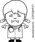 a cartoon illustration of a... | Shutterstock .eps vector #229184917