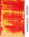 red paint being worn off | Shutterstock . vector #2291867