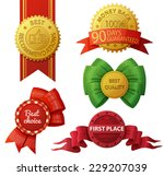 set of badges and labels... | Shutterstock .eps vector #229207039