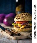 burger | Shutterstock . vector #229212085