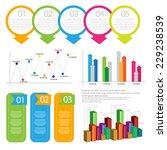 info graphic element set. vector | Shutterstock .eps vector #229238539