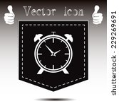 vector illustration of an alarm ... | Shutterstock .eps vector #229269691
