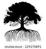 tree silhouette | Shutterstock .eps vector #229270891