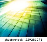 panoramic and prospective wide... | Shutterstock . vector #229281271