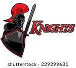 knight graphic logo | Shutterstock .eps vector #229299631
