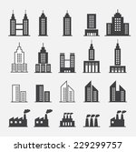 building icon | Shutterstock .eps vector #229299757