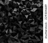 displaced 3d triangular... | Shutterstock . vector #229304689